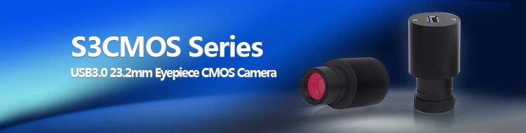 S3CMOS Series USB3.0 Eyepiece CMOS Camera