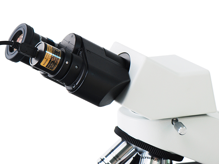 SCMOS Series Camera with Microscope