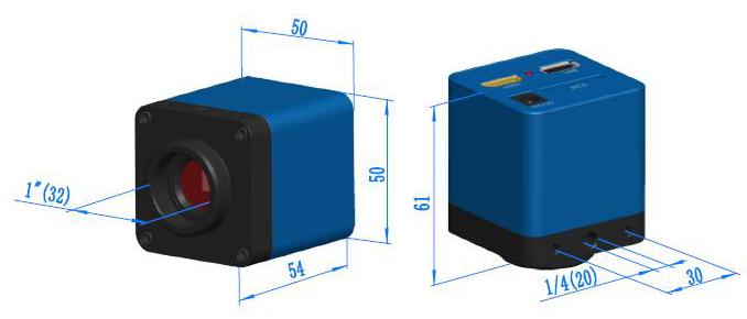 XCAM0720KPB Dimension