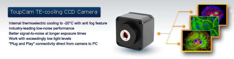 ToupTek TE-cooling CCD camera