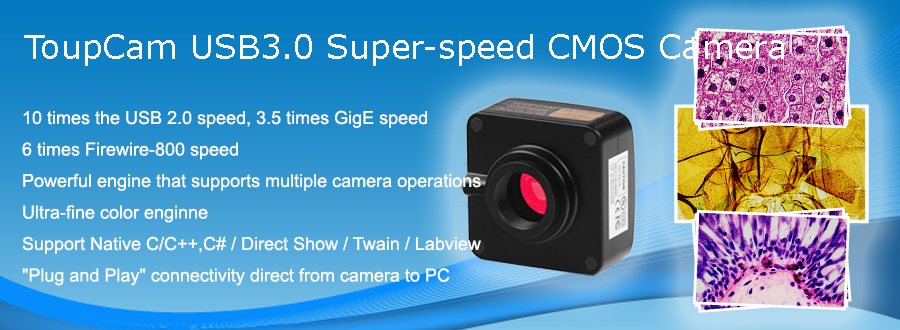 ToupTek USB 3.0 CMOS camera